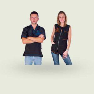 Abbigliamento per toelettatore